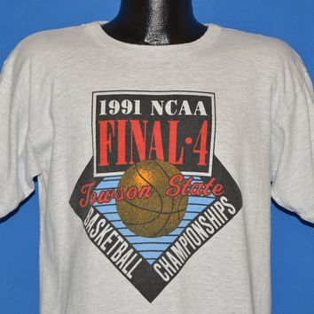 90s NCAA Final Four 1991 Championships t-shirt Large