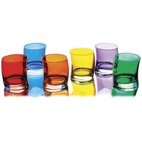 SWING SHORT TUMBLERS   Whiskey Tumblers - Curved Glasses in Bright Colors for Dinner Party Fun   UncommonGoods