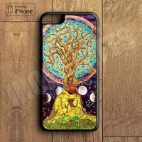 Tree of Life Plastic Case iPhone 6S 6 Plus 5 5S SE 5C 4 4S Case Ipod Touch 6 5 4 Case iPhone X 8 8 Plus