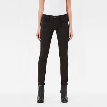 3301 Deconstructed Mid Waist Skinny Jeans | G-Star RAW®