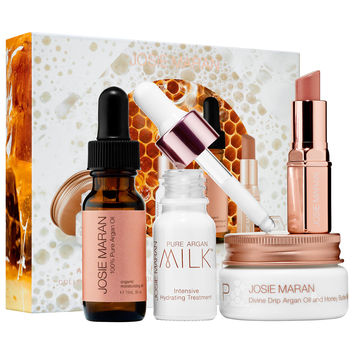Sephora: Josie Maran : Argan Milk and Honey Skincare Collection : skin-care-sets-travel-value