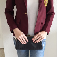 Vintage Private School Uniform Preppy Blazer