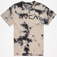 Rvca Big Wash Mens T-Shirt Black/Grey  In Sizes
