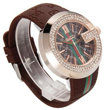Gucci Women Fashion Trend Quartz Movement Wristwatch Watch