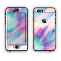 The Tie Dyed Bright Texture Apple iPhone 6 Plus LifeProof Nuud Case Skin Set