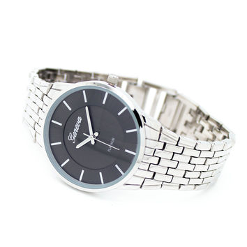 Glen metal watch (3 colors)