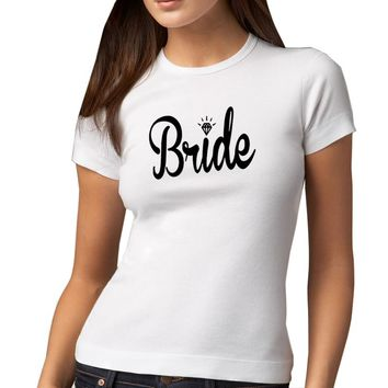 Wedding T-shirt For Bride