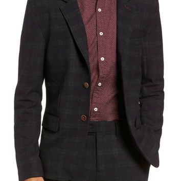 Kurt Blazer in Plaid Midnight