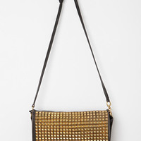 Urban Outfitters - Vintage Studded Turn-Lock Black Coach Bag
