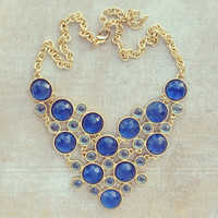 Pree Brulee - Translucent Blue Waters Necklace