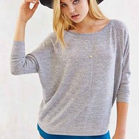 BDG Seamed Pullover Top - Grey