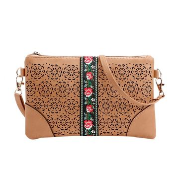 women's shoulder bag Flowers Vintage Hippie Embroidered crossbody bags for women bao bao #5M