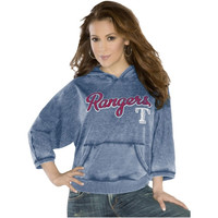 Touch by Alyssa Milano Texas Rangers Ladies Star Player Pullover Hoodie - Navy Blue
