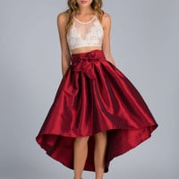 Tie One On High-Low Party Skirt