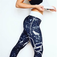 Print Winter Hot Sale Stylish Yoga Sports Leggings [167321141263]