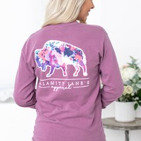 Floral Buffalo | Purple | Calamity Jane
