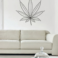 Leaf Version 1 Design Decor Nature Decal Sticker Wall Vinyl Art