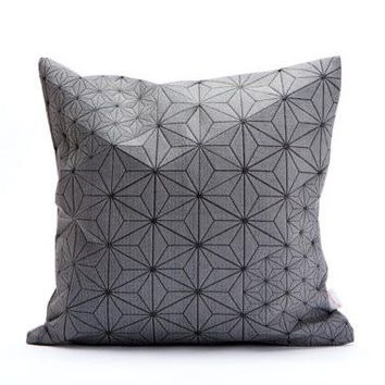 Geometric Japanese Removable Pillow Cover