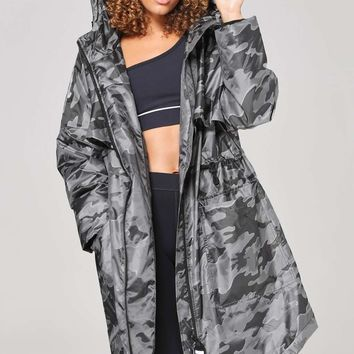 Camo Jacquard Luxe Parka by Ivy Park | Topshop