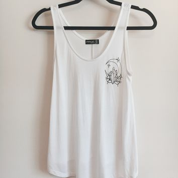 Moon And Crystals Tank Top
