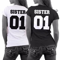 Girlfriends Shirt SISTER 01 Best Friends T-Shirt