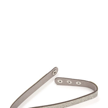 Encrust In Me Slim Jeweled Choker