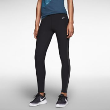 Nike Track and Field Reflective Women's Leggings Size XL (Black)