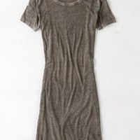 AEO Women's Don't Ask Why Ribbed T-shirt Dress
