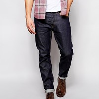Edwin Jeans ED-80 Slim Tapered Fit Compact Indigo Unwashed