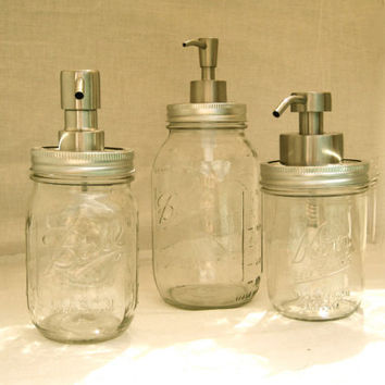 EcoFavorable Mason Jar Dispensers Custom Order by TheHoneyShack