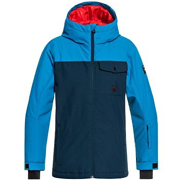 Quiksilver Boy's Mission Snow Jacket