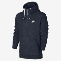 The Nike Sportswear Legacy Men's 1/2 Zip Hoodie.