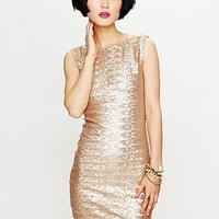 Free People Lucinda Sequin Dress