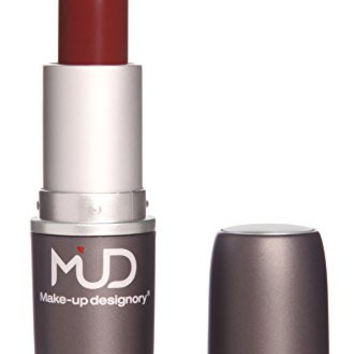 Mud Satin Lip Stick with LA Fresh Makeup Remover - 10 Colors
