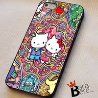 Hello Kitty Characters iPhone 4s iphone 5 iphone 5s iphone 6 case, Samsung s3 samsung s4 samsung s5 note 3 note 4 case, iPod 4 5 Case