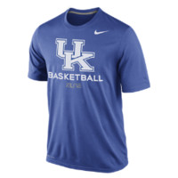 Nike Practice (Kentucky) Men's Basketball Shirt Size M (Blue)