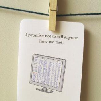 I promise not to tell by 4four on Etsy