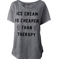 Ice Cream Therapy Tee