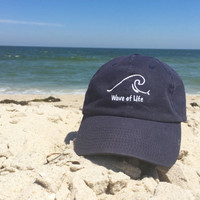 Wave of Life Baseball Cap Summer Fashion Style Beach Boho by Wave of Life™