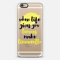 Make Limoncello iPhone 6 case by Lauren Manna | Casetify