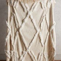 Aldalora Throw by Anthropologie in Neutral Size: One Size Throws