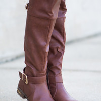 The Amber Boot, Brown