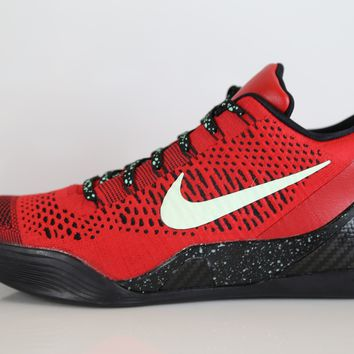 BC QIYIF Nike Kobe IX Elite Low Xmas University Red 639045-600