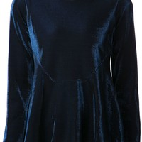 Jil Sander Navy metallic blouse