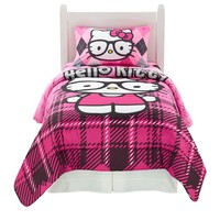 Sanrio Hello Kitty I Heart Nerd Bed Set (Pink)