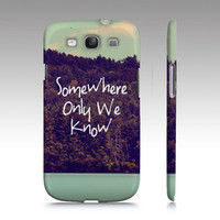 """Samsung Galaxy S3 """"Somewhere"""" - $35.00 - Handmade Accessories, Crafts and Unique Gifts by Vintage Skies Photography & Designs"""