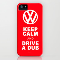 VW Drive a Dub iPhone & iPod Case by Alice Gosling