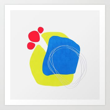 Modern minimal forms 45 Art Print by naturalcolors