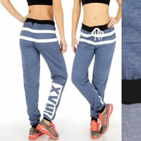 Two Tone  XVIII Jogger Pants in S-3X in 3 Colors