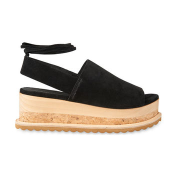 Rada Suede Wedge Sandals